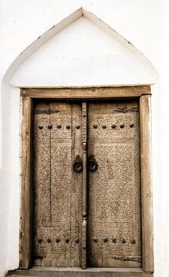 One of many unique doors