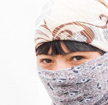 Qassieth, a young women, Tajikistan