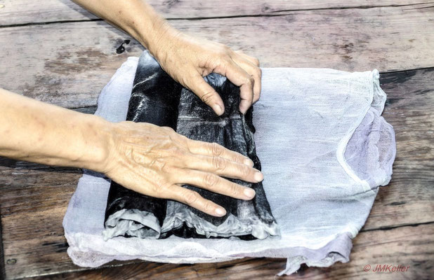 Art Studio BUKON - felting on silk