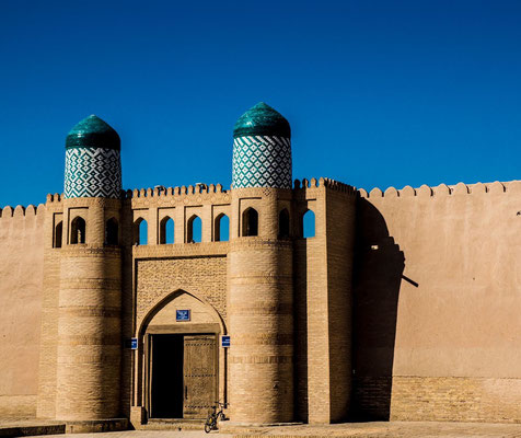 "The Kohna Ark (""Old Fortress"") was built in the 18th and early 19th centuries, but the emirs abandoned it later that century in favor of the Tash Hauli, a new palace on the other side of the city"