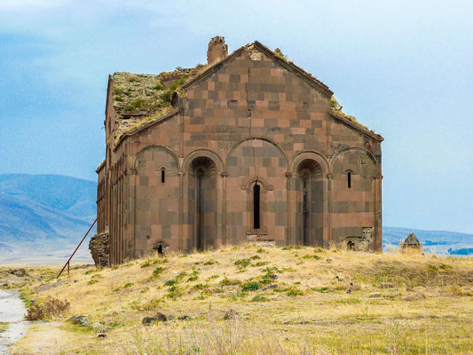 The Ani Cathedral. Turkey launched a project to conserve the ancient cathedral and a church in what is seen as a gesture of reconciliation toward neighboring Armenia