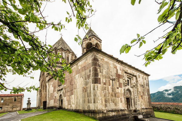 Monastery of Gandzasar (treasure mountain or hilltop treasure in Armenian) (1216-1266) The monastery holds relics believed to belong to St. John the Baptist