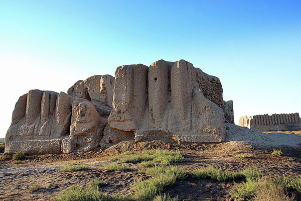the fortress Lesser Kyz Kala, 7th C. AD