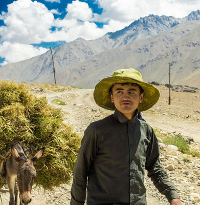 Man in the Wakhan Corridor