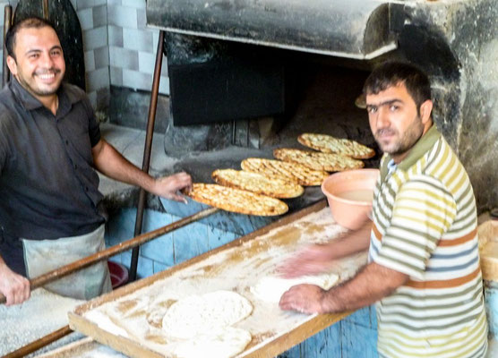 Mardin, Kurdistan - bakery