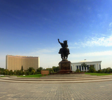 Amir Timur square - the heartt of Tashkent