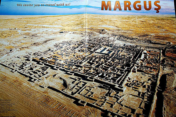 Margiana, Margus, Merv - witch is correct ? All of them. They are the name of the same country, derivate of the Murghab - the river wich life-giving waters overshadowed the birth of a country and nation inhabiting there