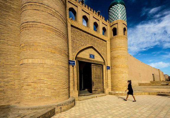 entrance to the Kohna Ark