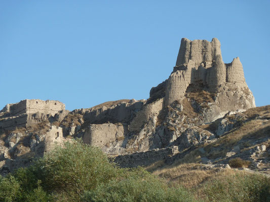 Van Fortress, Tushpa. Tushpa was the capital of the Urartian kingdom in the 9th century BC