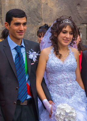 Wedding couple, Armenia