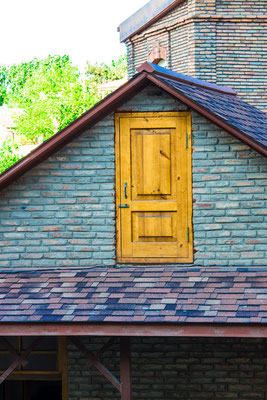 Strange: a door to canopy