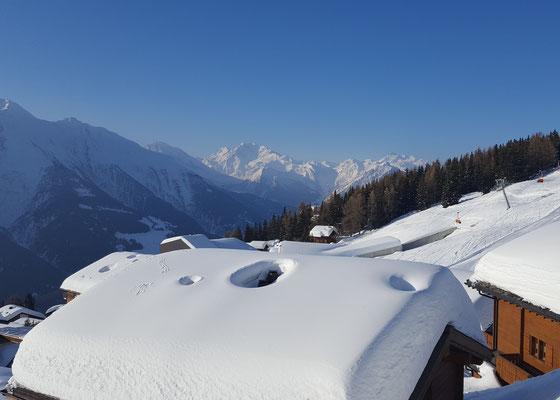 Aussichten  Schneeberge Winter 2017/2018