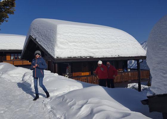 Chalet Balfrin vom Dom Schneeberge Winter 2017/2018