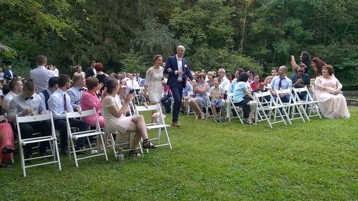 sonorisation de la cérémonie de mariage