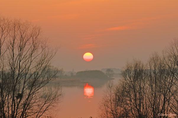 Le Lac du Der se couche