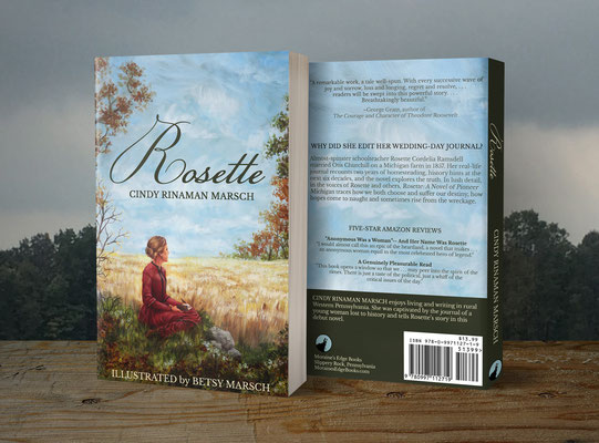 Paperback cover, created with Photoshop and displayed with template from Covervault