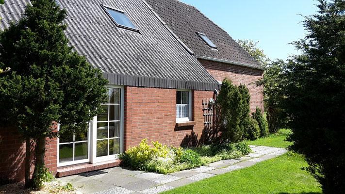 Ferienwohnung Wangerland Bauernhof Nordseeküste Hunde erlaubt