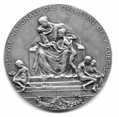 Paul Dubois: Oeuvre Nationale des Orphelins de la Guerre