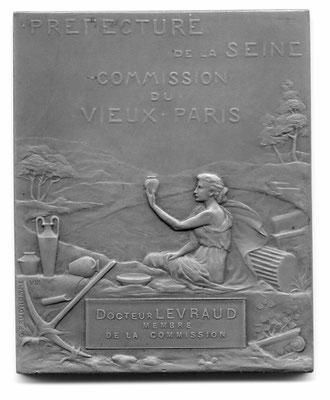 Georges Prud'homme: Préfecture de la Seine, Commission du Vieux Paris
