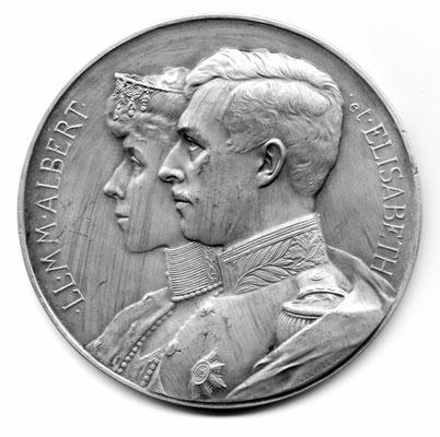 Godefroid Devreese: LL. MM. Albert et Elisabeth