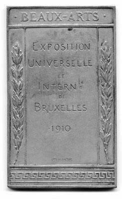 Godefroid Devreese: Exposition universelle et internationalle de Bruxelles (1910)