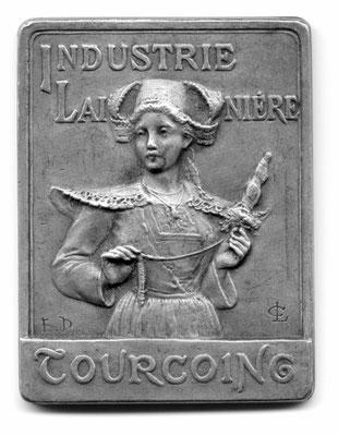 Lucien Coudray: Industrie lainière