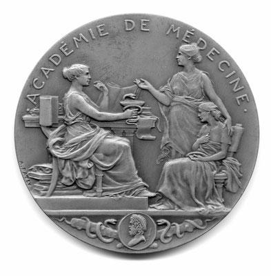 Auguste Patey: Académie de Médicine