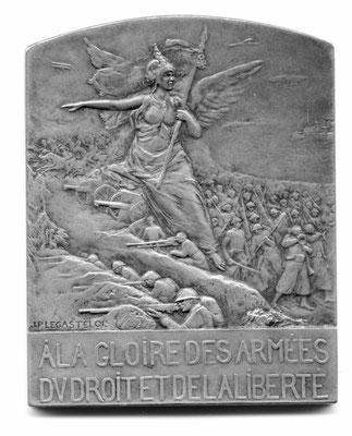 Jules-Prosper Legastelois: À la gloire des armées du droit et de la liberté
