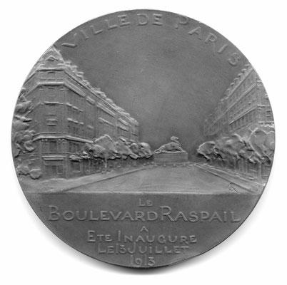 René Grégoire: Inauguration du Boulevard Raspail