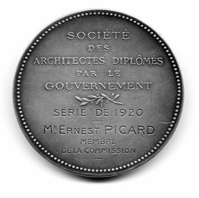 Louis Bottée: Société des Architectes Diplomés