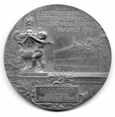 Ernest Bussière: Exposition internationale de l'Est de la France (1909)