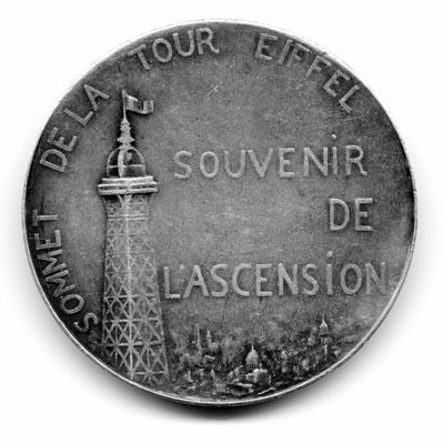 Alexandre Charpentier: Sommet de la Tour Eiffel