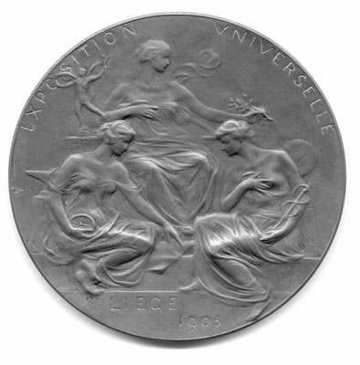 Paul Dubois: Exposition Universelle de Liège (1905)