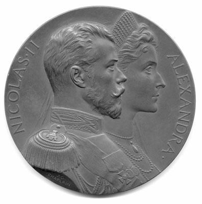Jules-Clément Chaplain: Nicolas II et Alexandre
