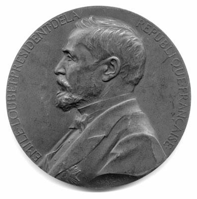 Jules-Clément Chaplain: Emile Loubet