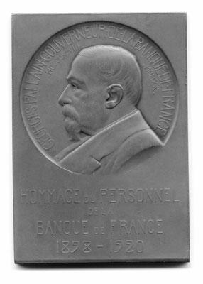 Abel Lafleur: Georges Pallain, Gouverneur de la Banque de France