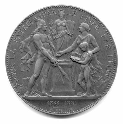Alfred Borrel: Pour la patrie, par le livre, par l'épée