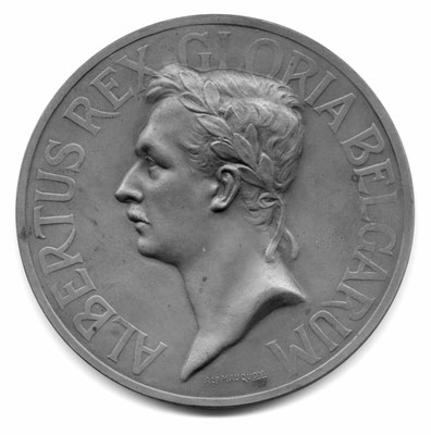 Alphonse Mauquoy: Fête de la paix Anvers (1919)