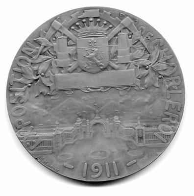 Alphonse Mauquoy: Exposition de Charleroi (1911)