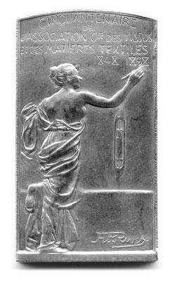 Adolphe Rivet: Cinquentenaire de l'Association Cie des tissus et des matières textiles 1848-1898