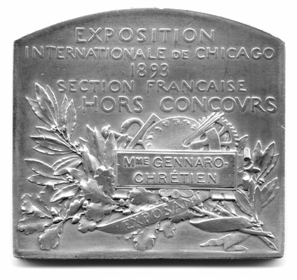 Oscar Roty: International Exhibition of Chicago (1893)