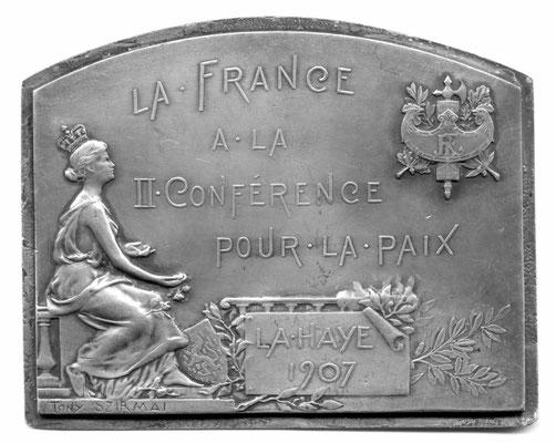 Tony Szirmai: La France à la II. Conférence pour la Paix