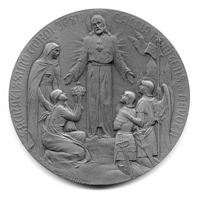 Hippolyte Lefebvre: Consecration de la Basilique nacionale due Sacre-Coeur