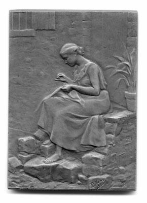 Blanche Adèle Moria: Au village