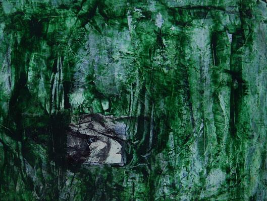 Waldwesen (ca. 22 x 16 cm)