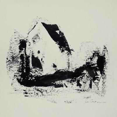 leerstehend (20 x 20 cm)