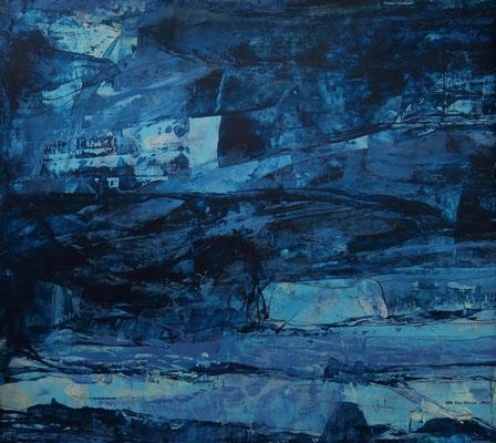 Vollmondnacht (Ausschnitt aus A4)
