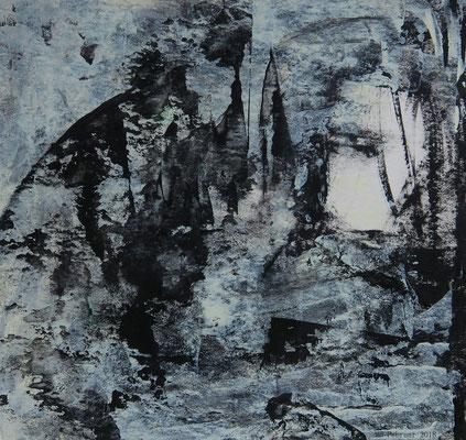 Wildwasser (15 x 15 cm)