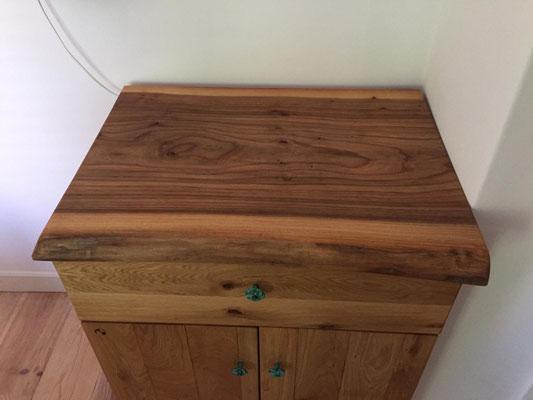 Iepen houten werkblad
