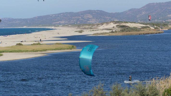 Kitespot Sardinien